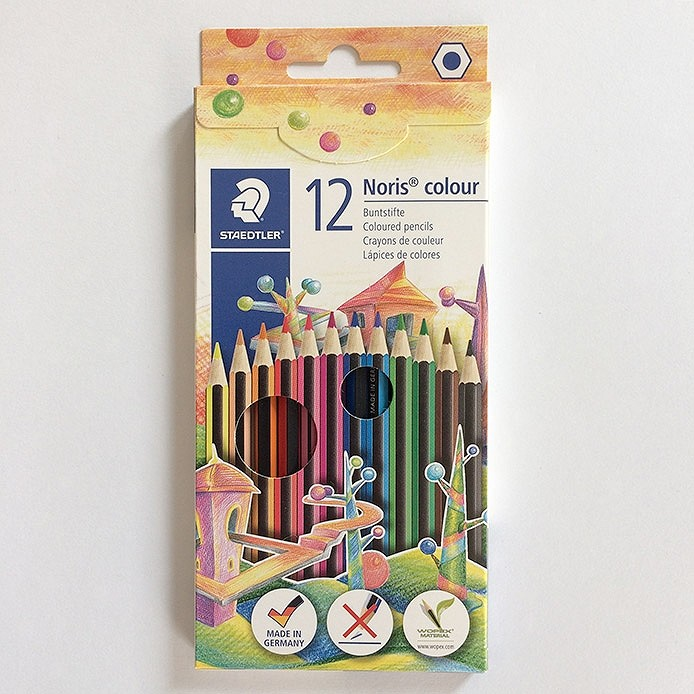 Fargeblyanter UTEN navn: 12 stk