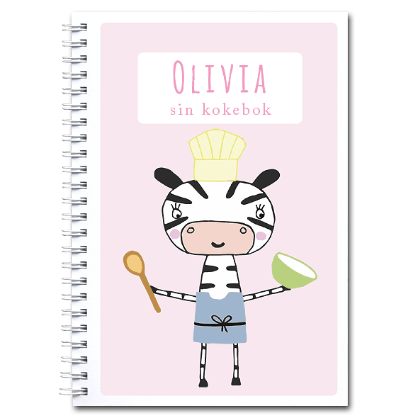 Personlig kokebok: sebra - jente