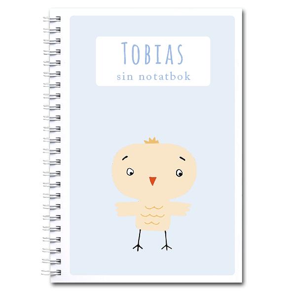 Personlig notatbok: fugl - gutt