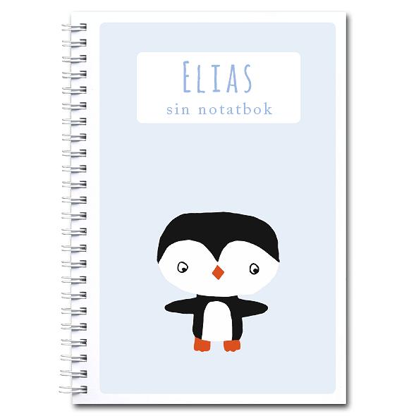 Personlig notatbok: pingvin - gutt