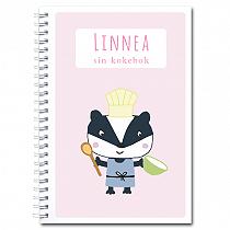 Personlig kokebok: grevling - jente