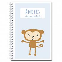 Personlig notatbok: ape - gutt