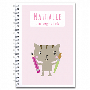 Personlig tegnebok: katt - jente
